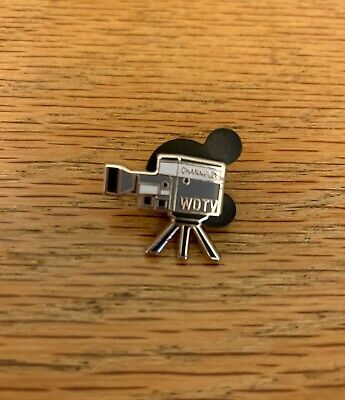 Disney D23 2019 Exclusive Tiny Kingdom Disneyland WDTV Movie Camera Pin