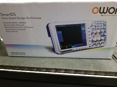 Owon SDS8102 SmartDS Digital Storage Oscilloscope 100Mhz 2GS/s 2 Chan