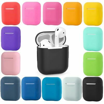 Shockproof Case Silicone Cover Gel Skin Holder for Apple Airpods Airpod 1 2