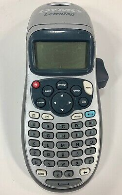 DYMO LetraTag LT-100H Handheld Label Maker Battery Operated Tested Works