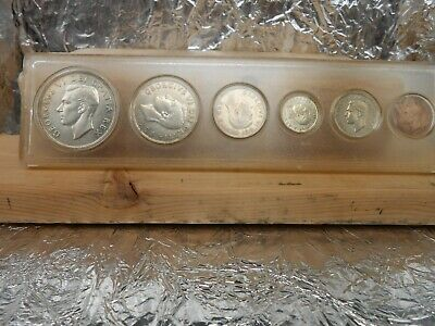 1951 Canadian silver Year 6 coin year set