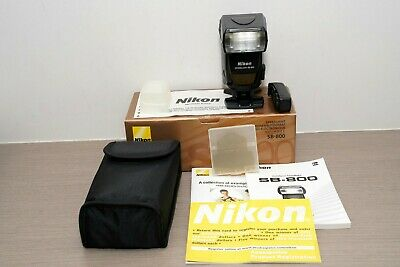 Nikon SB-800 Speedlight Flash with original box