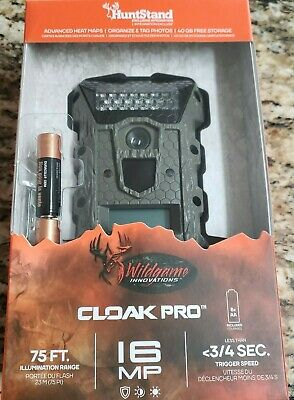 Wildgame Innovations CLOAK PRO 16MP 75FT. Brand New Ships Free