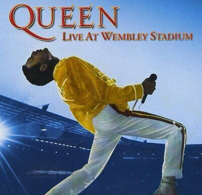 ★ QUEEN Live At Wembley Stadium - Double DVD Limited Edition 1986 - NEW