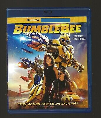 Bumblebee Transformers Blu-ray + Cover Art + Case Only