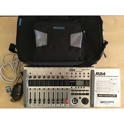Zoom R24 Track MultiTrack Digital Recorder Interface Sampler & Controller