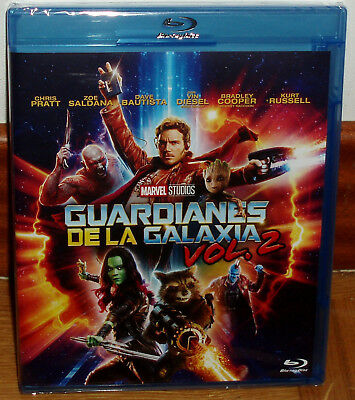 Guardians of the Galaxy VOL.2 Blu-Ray New Sealed Action (Sleeveless Open) R2