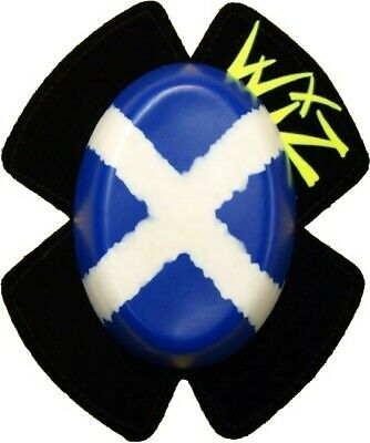 WIZ Knee Sliders Scottish Flag Protectors, brand new