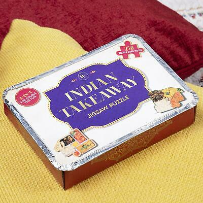 Fizz Creations Curry Takeaway Puzzle Novelty Jigsaw Gift
