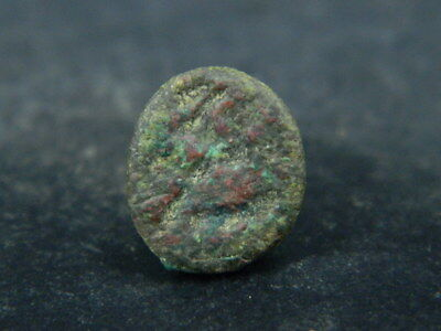 Ancient Bronze Seal/Stamp Bactrian 100 BC #BR6366