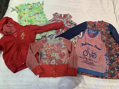 Oilily Girls Bundle Dresses And Cardigans 6 Items