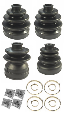 Front Inner & Outer CV Gaiter Boot Set For WC34 Stagea RS4 RB25DET Series 2