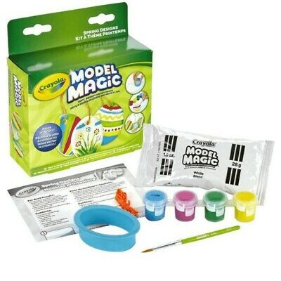 Crayola Model Magic Spring Designs Air Dry Modelling Clay/Dough Summer Holiday