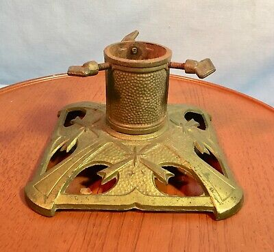Vintage ~ Antique Cast Iron Christmas Tree Stand Holder ~