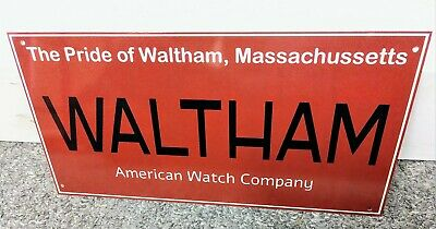 Waltham Watch Sign