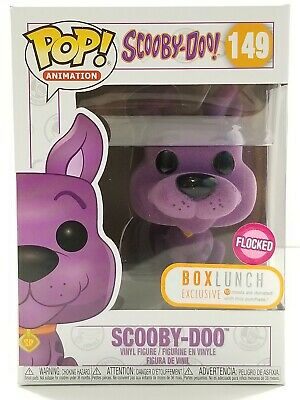 Funko Pop! Animation *SCOOBY-DOO* Purple Flocked #149 (Box Lunch Exclusive)