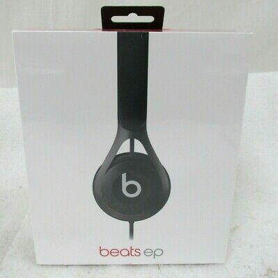 Authentic Beats by Dr. Dre BEATS EP  BLACK Wired Headphones