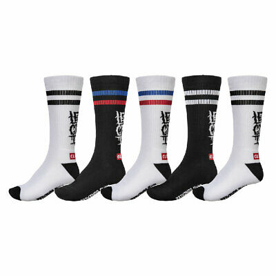 Calze Globe Lets Get It Crew Sock 5 Pack Assorted