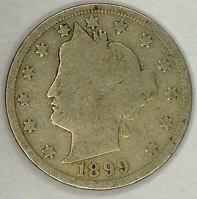 1899-P 5C Liberty Head Nickel 19r0823 Only 50 Cents for Shipping