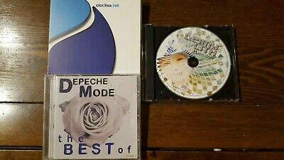 DEPECHE MODE the best, ELECTROCHILL, D.LITH ... ( 3 CD ALBUMS )