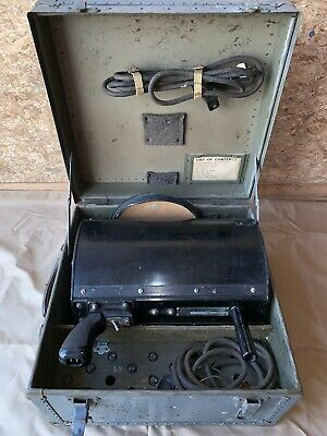 Vintage WWII Hand Held Air Traffic Control Lamp Assembly Type B-3 Crouse-Hinds
