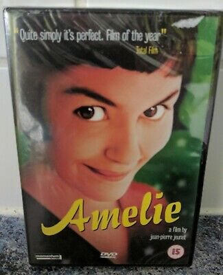 Amelie  with Audrey Tautou (DVD, 2001) - Brand NEW & Sealed