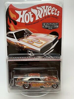Hot Wheels Walmart Mail in, ZAMAC '69 DODGE CHARGER FUNNY CAR, from 2016