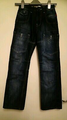 Boys Age 10/11 Ripstop Global Redemption Jeans... Free P&P!!