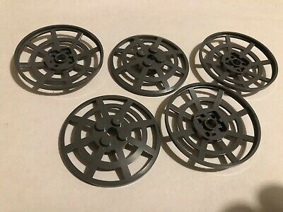 x 2 pieces DARK RED Lego Spare Parts Pieces 3960 Inverted Dish 4X4