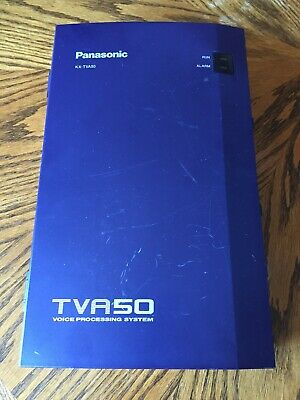 Panasonic KX-TVA50 Voice Mail Voice Processing System 2 Port 4 Hour Used Working