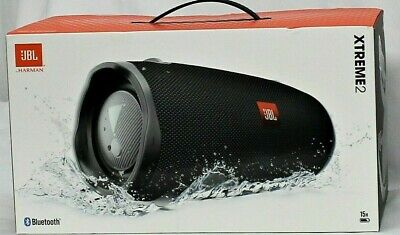 JBL Xtreme 2 Portable Bluetooth Waterproof Speaker- Black