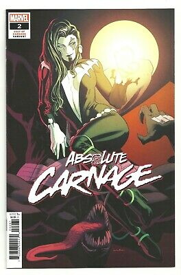 Absolute Carnage #2 KRIS ANKA 1:25 Cult of Carnage Variant Cover