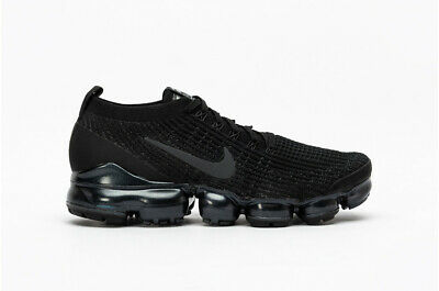NEW 2019 NIKE AIR VAPORMAX FLYKNIT 3.0 Black/White/Metallic Silver SZ  8-11