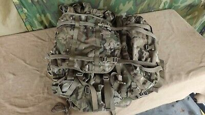 USGI US Army OCP Multicam MOLLE II Large Rucksack & Sustainment Pouchs Eagle