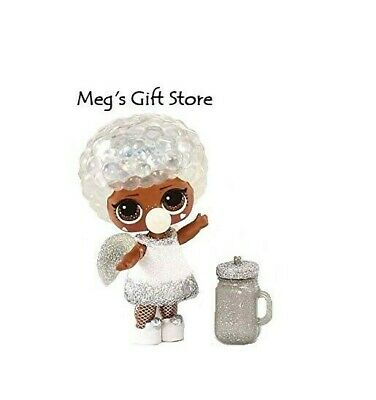 New LOL Surprise Winter Disco Bashful QT with accessories and glitter globe ball