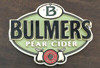 Bulmers Cider - Tap / Badge - Decal - Mancave - Bar - Bulmer's Pear Cider