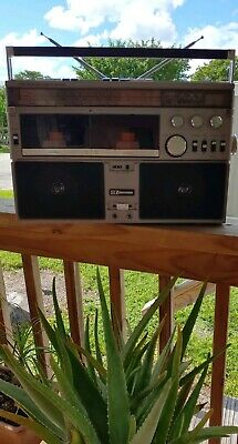 Vintage EMERSON CTR-944 Boombox Ghetto Blaster. ( WORKING CLEAN & RARE )
