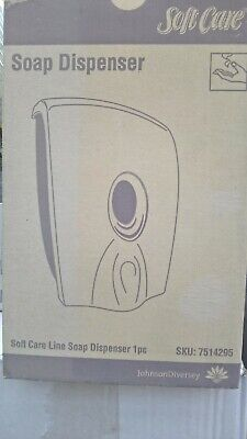 Soft Care Soap Dispenser . NEW BOXED SKU7514295