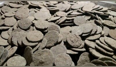 50 Ancient Roman Coins uncleaned