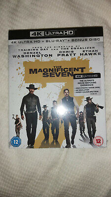 Magnificent  Seven 4k UHD + Atmos  Sound + Slipcover Brand New & Sealed