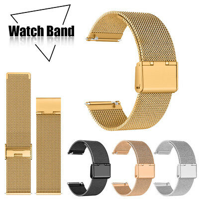 2019 Milanese Stainless steel Metal Buckle Watch Band Strap For Fitbit Versa 2