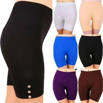 Womens Cycling Biker Short Pants Safety Anti Chafing High Waist Underwear Shorts