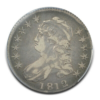 1812 50C Overton 110a Capped Bust Half Dollar PCGS VF30