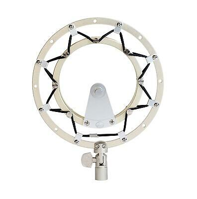 New Blue Radius II Silver/Gold Microphone Shock Mount for Yeti and Yeti Pro