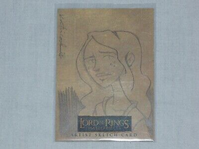 Lord Of The Rings Sketch Card By Katie Cook