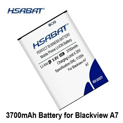 HSABAT 3700mAh A7 Battery For Blackview A7 A7 Pro within tracking number