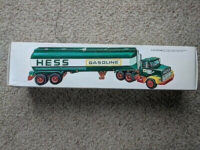 Vintage Rare! Black Switch 1977 Hess Truck