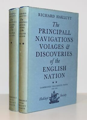 The Principall Navigations Voiages and Discoveries of the English Nat/Hakluyt
