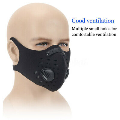 Activated Carbon proof Mask Filtration Exhaust Gas Anti Pollen Allergy