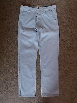 Men's Light Blue Slim Fit Chinos Jeans Style Trousers   Next   30S (W30 L29)